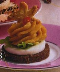 Ржаные хлебцы с арахисовой пастой и перчиком чили