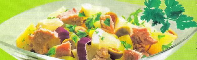 """Салат """"Тунец в овощах"""""""
