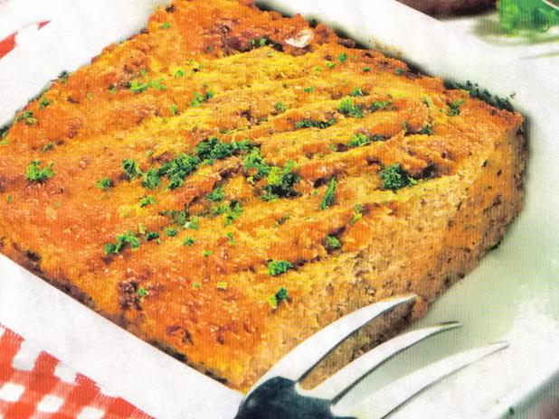 Суфле с фасолью