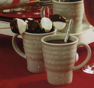 Горячий шоколад с зефиром