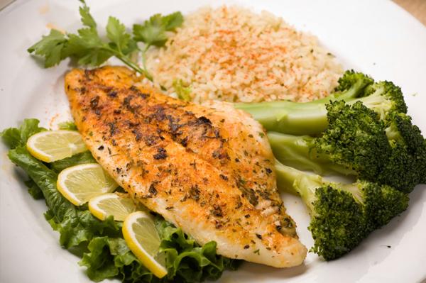 Рыба, приготовленная по-парижски