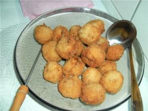 Крокеты с индейкой и сладким картофелем