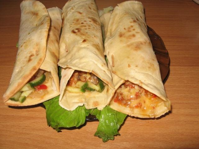 Мясные пирожки «Бурито» по-мексикански