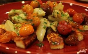 Салат из топинамбура