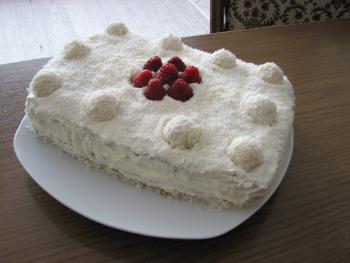Шоколадный торт «Рафаэлло»
