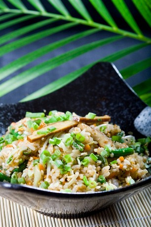 Китайское блюдо «Рис с яйцом»