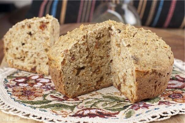 Диетический хлеб в духовке