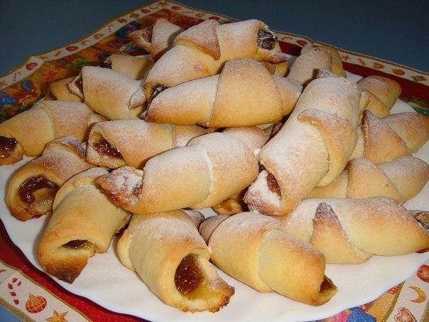 Рецепты печенья рогаликов с фото