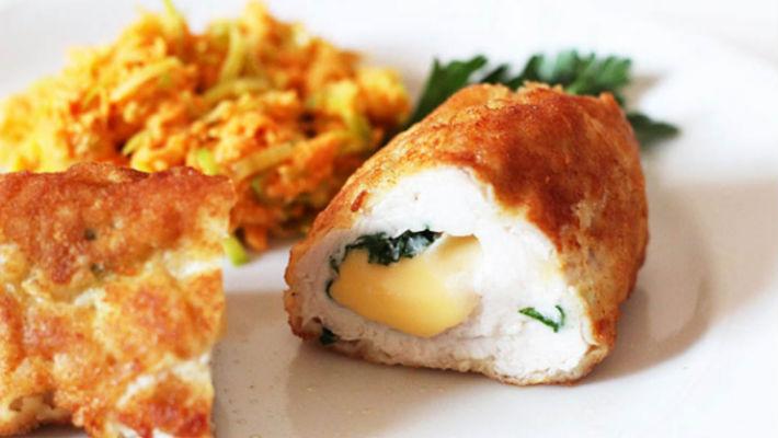 Куриные рулетики с сыром рецепт