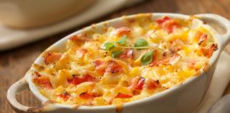 Кухня Италии: Макароны, запечённые с томатами, под пармезаном