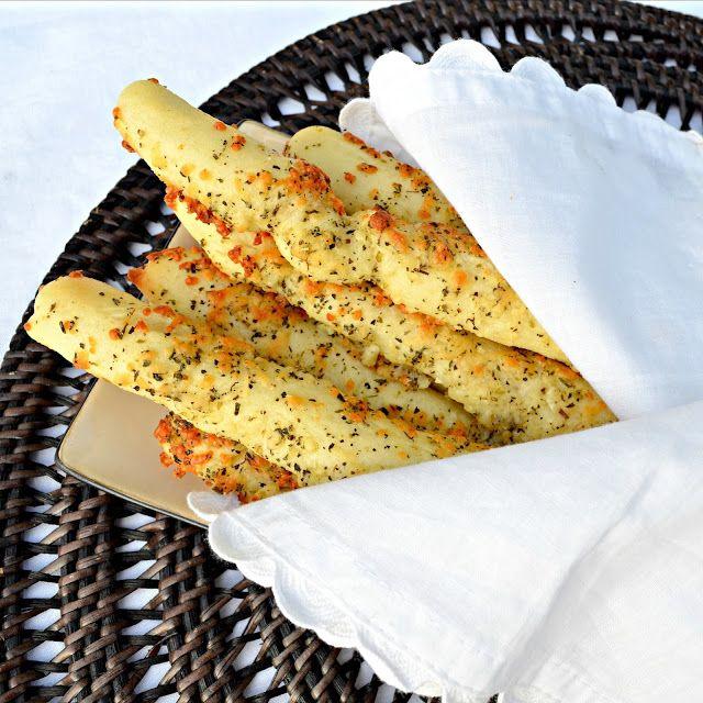 Рецепт сырно-чесночных палочек