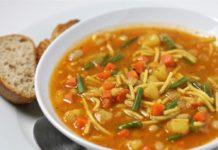 Французский овощной суп