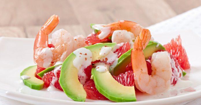 Салат из креветок «Летний вечер»